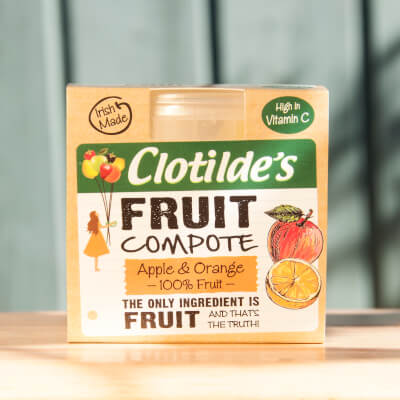 Clotilde's Apple & Orange Compote. 130G