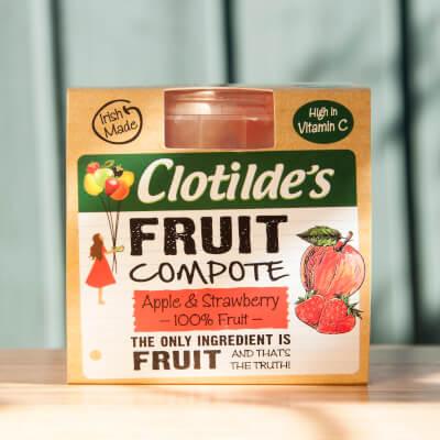 Clotilde's Apple & Strawberry Compote. 130G