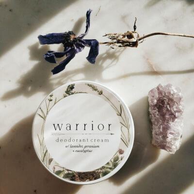 Warrior Deodorant Cream Lavender + Geranium