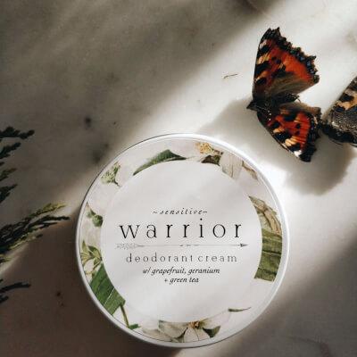 Warrior Sensitive Deodorant Grapefruit + Green Tea