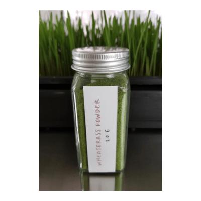 Microgreens – Spelt Wheatgrass Powder And Jar