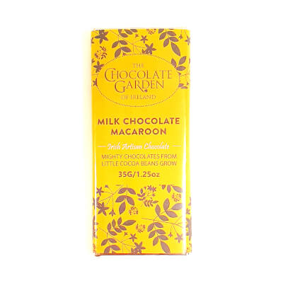 Three Macaroon Milk Chocolate Bars