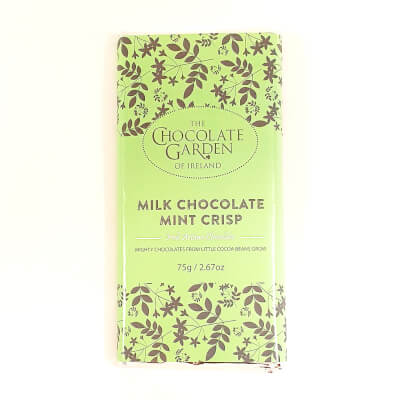 Large Mint Crisp Milk Chocolate Bar