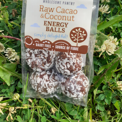 Raw Cacao & Coconut Energy Balls