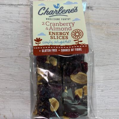 Cranberry & Almond Energy Slices