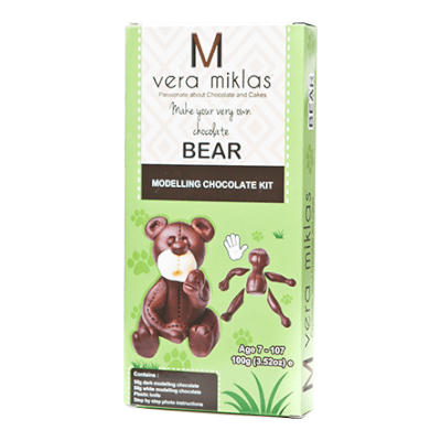 Make Your Very Own Bear From Modelling Chocolate