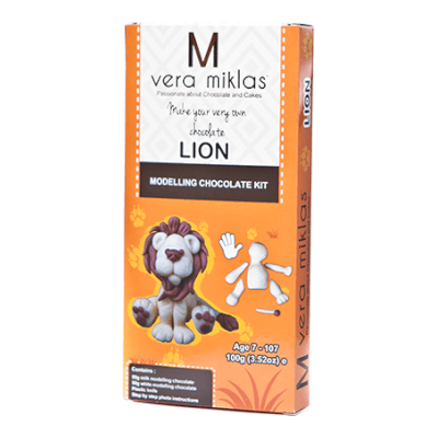 Make Your Very Own Lion From Modelling Chocolate