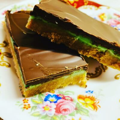 Mint Chocolate Slices