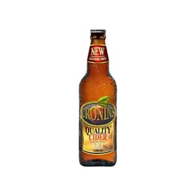 0.0 Alcohol Free Cronin'S Cider Case Of 12