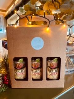 Cronin'S Cider Pint Bottle Gift Set