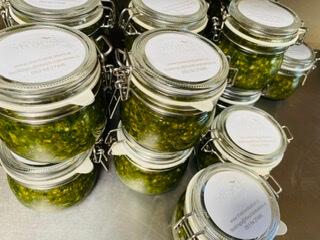 Basil Pesto Jar