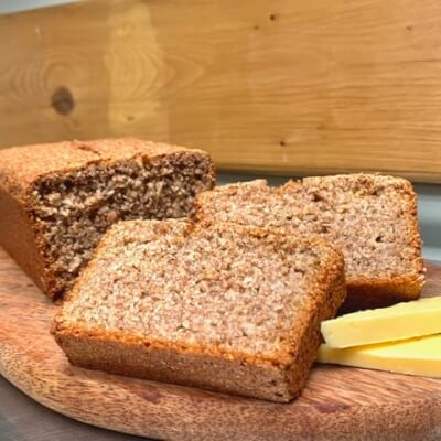 Wholemeal Brown Bread (Egg Free)