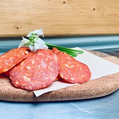 Topping Chorizo Slices