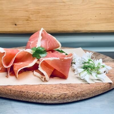 Topping Serrano Ham