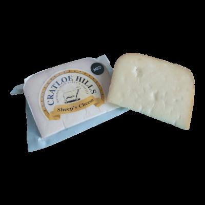 Cratloe Hills Sheeps Cheese Mild 125G