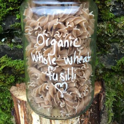 Organic Whole Wheat Fusilli Pasta