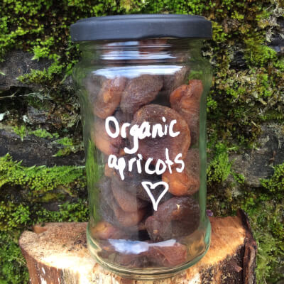Organic Apricots (Unsulphered)