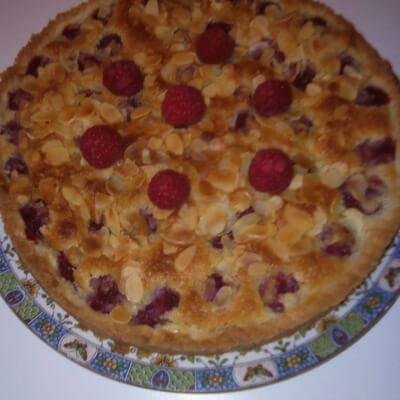 Raspberry And Almond Pie