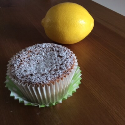 Lemon Olive Oil Cake Gf/Individual