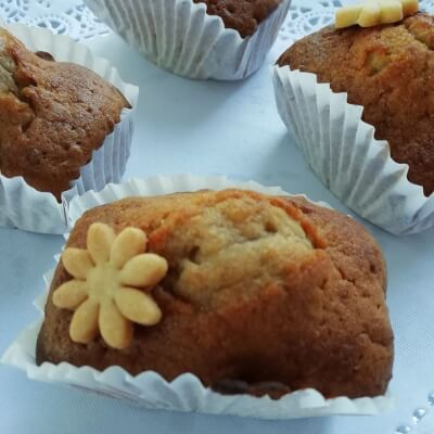 Honey And Nuts Individual Cake
