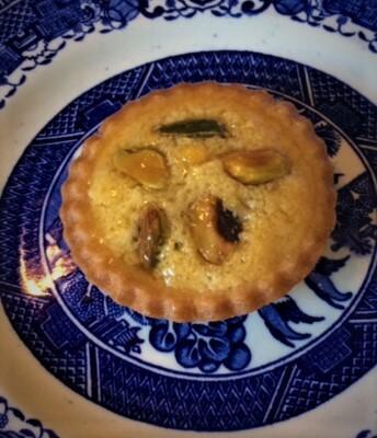 Pistachio And Almond Cream Small Pie/ Box Of 3