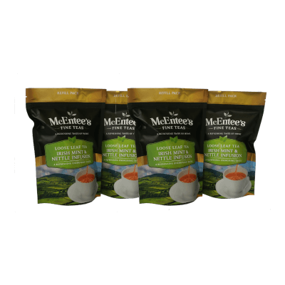 Mcentee's Irish Mint & Nettle Infusion 75G Pack Of 4