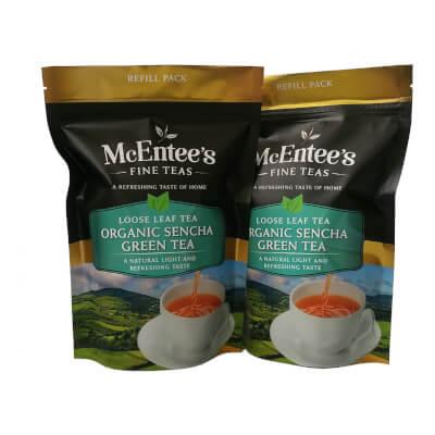 Mcentee's Organic Sencha Green Tea 150G Pack Of 2