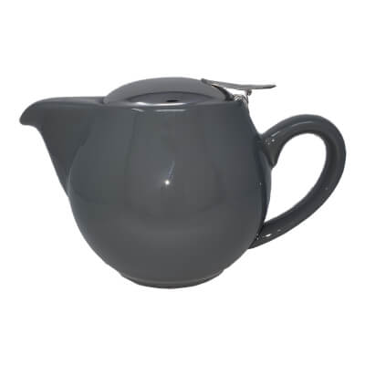 500Ml Aran (1-2 Cup) Grey Teapot Stainless Steel Lid 500Ml Teapot With Removable Stainless Steel Infuser