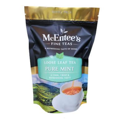 Mcentee's Pure Mint Tea - Carefully Selected Moroccan Mint Tea Infusion