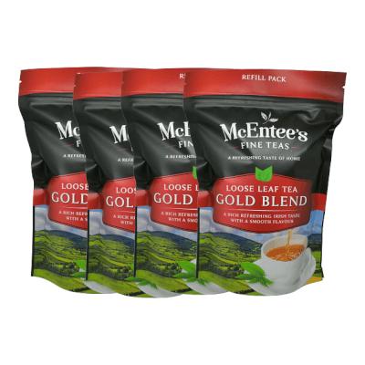 Mcentee'S Gold Blend Loose Tea 250G – Pack Of 4