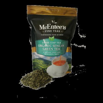 Mcentee'S Organic Sencha Green Tea – 150G Pack