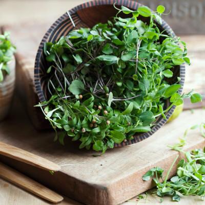 "Amazing Asian ""Micro-Salad"""