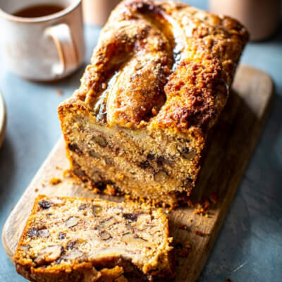 Nutrilicious Banana And Chocolate Chip Loaf