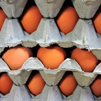 30 Small Free Range Eggs