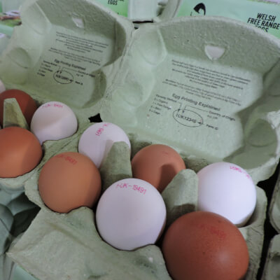 6 Boxed Medium Free Range Eggs