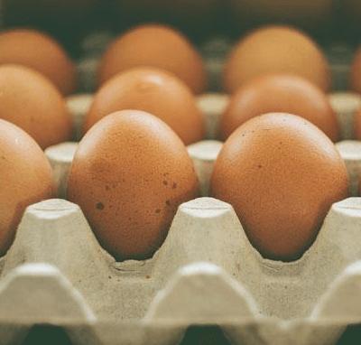 30 Medium Free Range Eggs
