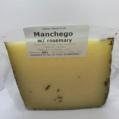Manchego (12-Month W/ Dried Rosemary)
