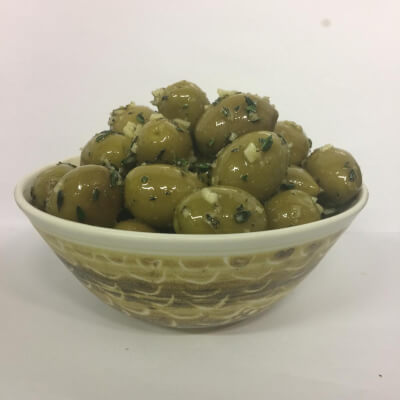 Koroneiki Olives Freshly Marinated