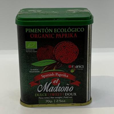 Organic Spanish Paprika (Sweet)