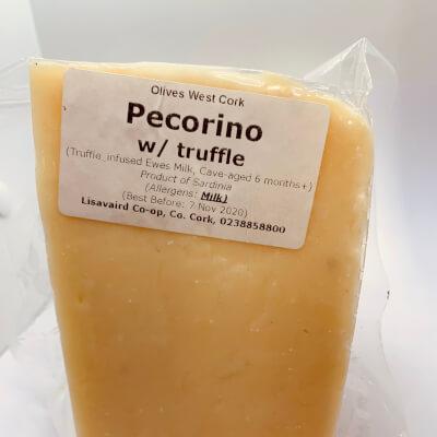 Pecorino W/ Truffle Shavings (200G+-)