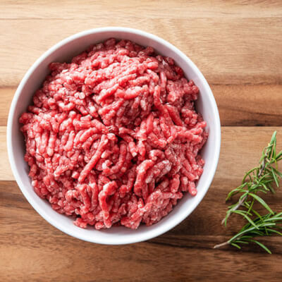 Local Grass-Fed Minced Beef