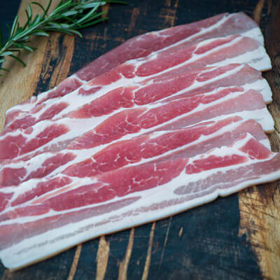 Special Offer****Rosscarbery Recipes Dry Cured Streaky Rashers