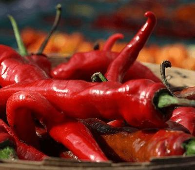 3 Organic Red Serano Chilli Peppers
