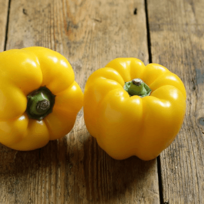 Organic Yellow Peppers