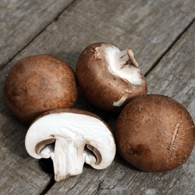 Organic Brown Chestnut Mushrooms