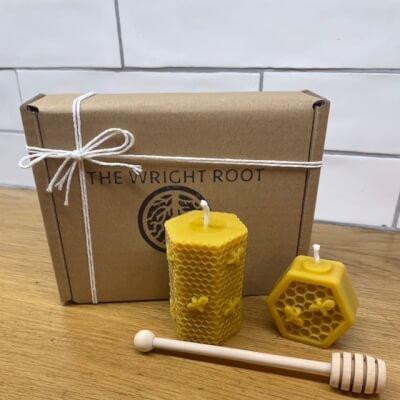100% Natural Bees Wax Candles