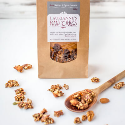 Raw Granola Raisin Spice