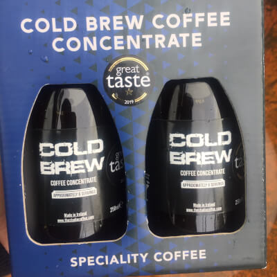 Cold Brew Coffee Concentrate Gift Pack  2 X 250Ml