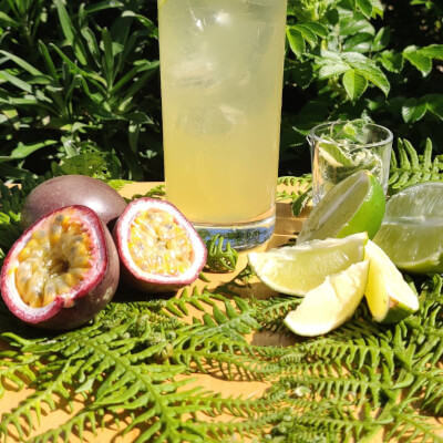 Passionfruit + Mint
