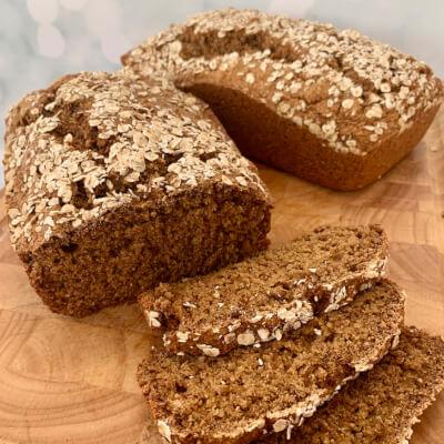 Rustic Farmhouse Brown Bread